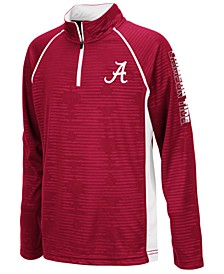 Big Boys Alabama Crimson Tide Quarter-Zip Pullover