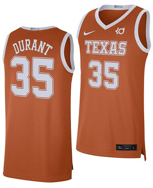 Nike Men's Kevin Durant Texas Longhorns Limited Basketball Player Jersey