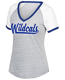 Women's Kentucky Wildcats Happy Heart T-Shirt