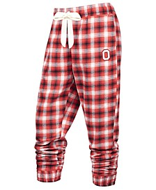 Women's Ohio State Buckeyes Flannel Plaid Pants