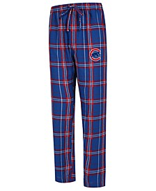 Men's Chicago Cubs Hillstone Flannel Pajama Pants