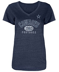 Women's Dallas Cowboys Mariah V-Neck T-Shirt