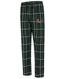 Men's Miami Hurricanes Hillstone Flannel Pajama Pants