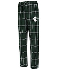 Men's Michigan State Spartans Hillstone Flannel Pajama Pants