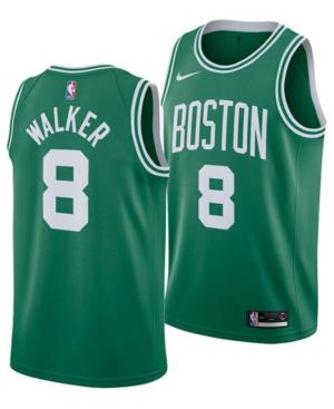 Nike Men's Kemba Walker Boston Celtics Icon Swingman Jersey