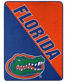 Florida Gators Micro Raschel Halftone Blanket