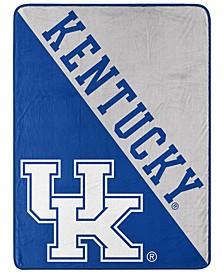 Kentucky Wildcats Micro Raschel Halftone Blanket
