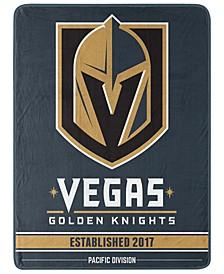 Northwest Company Vegas Golden Knights Micro Raschel Break Away Blanket