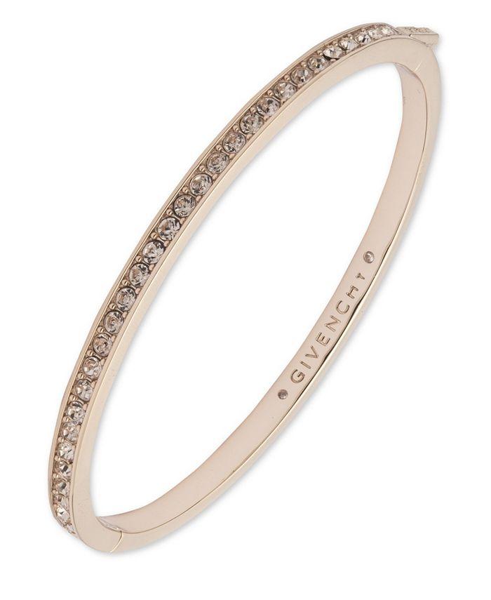 Silk Swarovski Element Bangle Bracelet