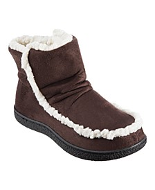 Isotoner Microsuede Alex Boot with 360 Surround Memory Foam Slippers, Online Only