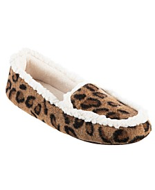 Isotoner Microsuede Alex Moccasin with 360 Surround Memory Foam Slipper, Online Only