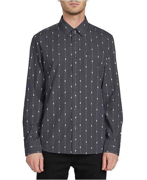 Volcom Men's Bonga Print Shirt