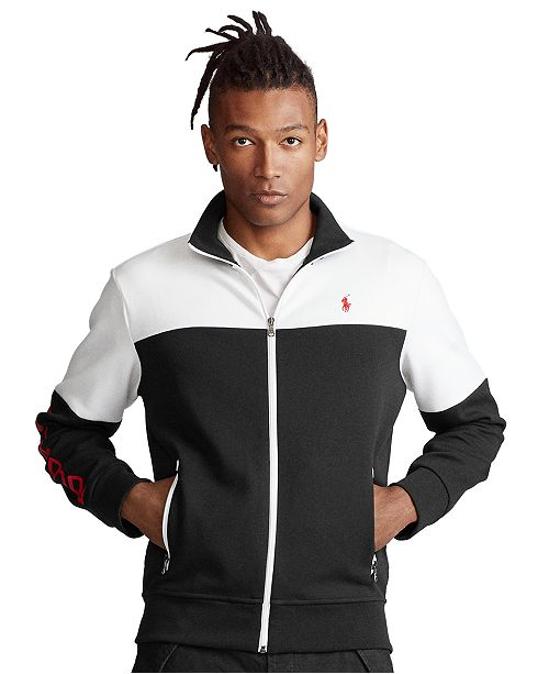 Polo Ralph Lauren Men's Color-Blocked Double-Knit Jacket