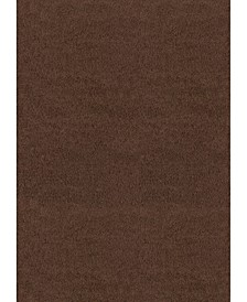 "Aria Brushstrokes 701 90050 46 Brown 3'11"" x 5'3"" Area Rug"
