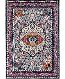 """Abigail Sia 713 21381 1013 Pink 9'10"""" x 13'2"""" Area Rug"""