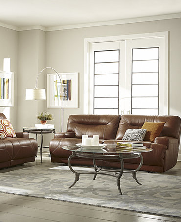 Ricardo Leather Sofa Living Room Furniture Collection Power Reclining Furn
