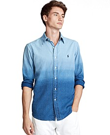 Men's Classic Fit Dip-Dyed Shirt