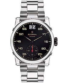 Men's Swiss Testa Piatta Stainless Steel Bracelet Watch 42mm