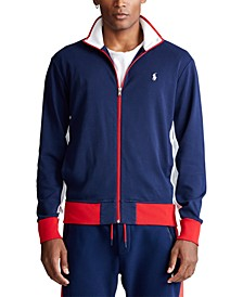 Men's Cotton Interlock Track Jacket