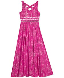 Big Girls Embellished Sparkle Dress