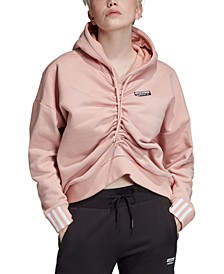 Women's Cotton Ruched Hoodie