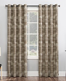 "Marcus Crosshatch 52"" x 96"" Thermal Extreme Blackout Curtain Panel"
