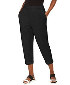 Organic Cropped Slouchy Pants, Created For Macy's