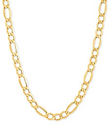 "Figaro Link 24"" Chain Necklace in 10k Gold"