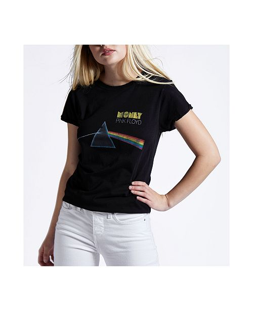 Recycled Karma Brands Pink Floyd Darl Side of Money T-Shirt