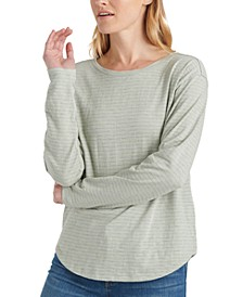 Easy Striped Long-Sleeve T-Shirt