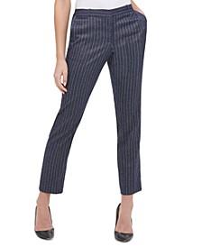 Radcliffe Pinstriped Slim-Fit Dress Pants