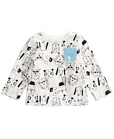 Toddler Boys Animal-Print T-Shirt, Created for Macy's