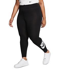 Plus Size Sportswear Leg-A-See High-Rise Leggings