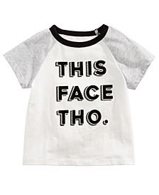 Baby Boys Cotton Graphic-Print Raglan T-Shirt, Created For Macy's