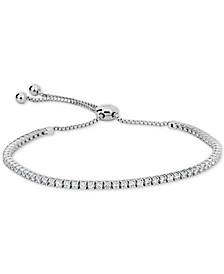 Certified Diamond Bolo Bracelet (1-1/3 ct. t.w.) in 14k White Gold