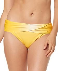 Ombré Foldover Bikini Bottoms