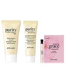 Receive a 3pc Purity & Scent Gift with any $50 purchase