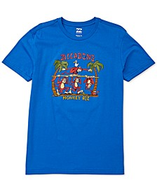 Toddler & Little Boys Monkey Biz-Print Cotton T-Shirt