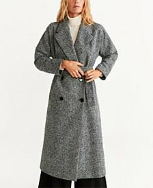 Textured Long Coat