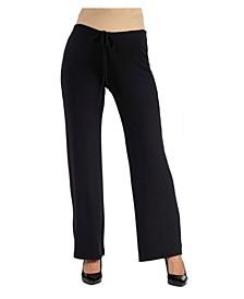 Women's Comfortable Drawstring Maternity Lounge Pants