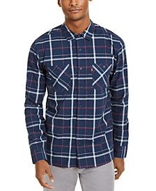 Men's Clive Plaid Woven Shirt