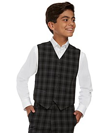 Big Boys Shadow Check Vest