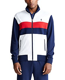 Men's Big & Tall Cotton Track Jacket
