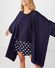 Body Jersey Kimono