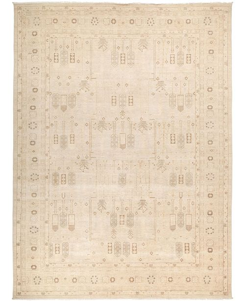 "Timeless Rug Designs CLOSEOUT! One of a Kind OOAK2737 Ivory 10'2"" x 13'8"" Area Rug"