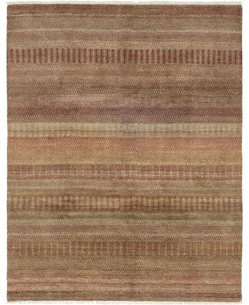 """Timeless Rug Designs CLOSEOUT! One of a Kind OOAK263 Cinnamon 8' x 10'4"""" Area Rug"""