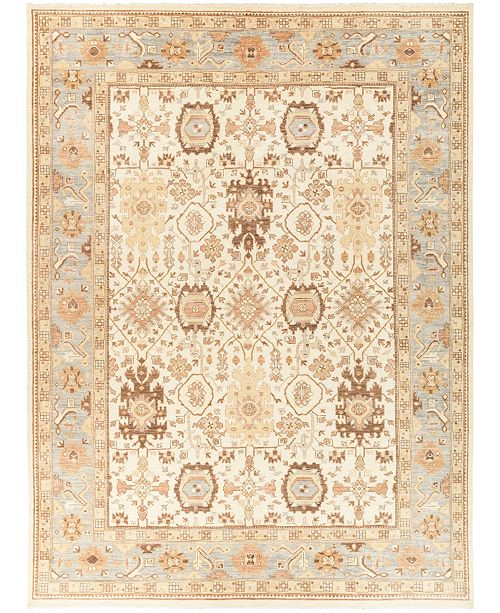 "Timeless Rug Designs CLOSEOUT! One of a Kind OOAK432 Ivory 10'2"" x 13'8"" Area Rug"