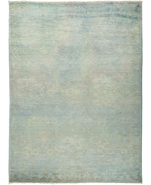"Timeless Rug Designs CLOSEOUT! One of a Kind OOAK781 Neutral 6'3"" x 8'9"" Area Rug"