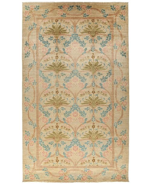 """Timeless Rug Designs CLOSEOUT! One of a Kind OOAK857 Beige 8' x 13'10"""" Area Rug"""