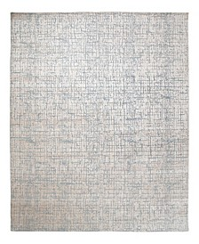 """One of a Kind OOAK2432 Gray 8'10"""" x 12'1"""" Area Rug"""